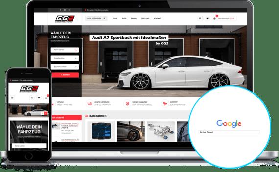 size 40 26c44 1a353 Magento Online Shops | Internetseiten, Responsive Webdesign ...